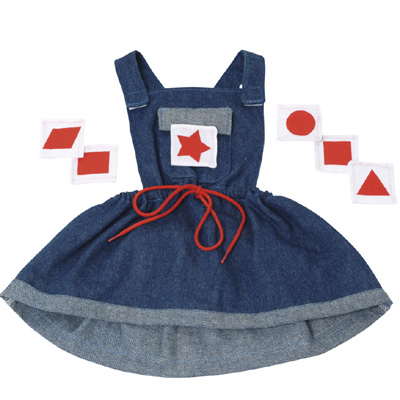 Jeans Dress with 6 shapes