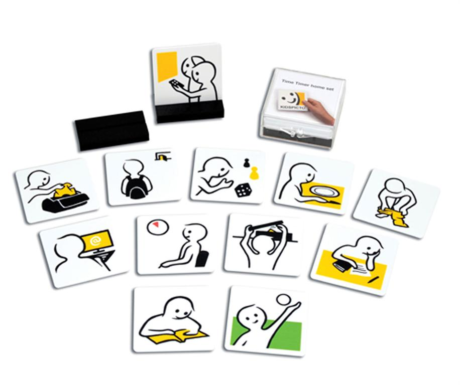 Time Timer Kids pictograms home set