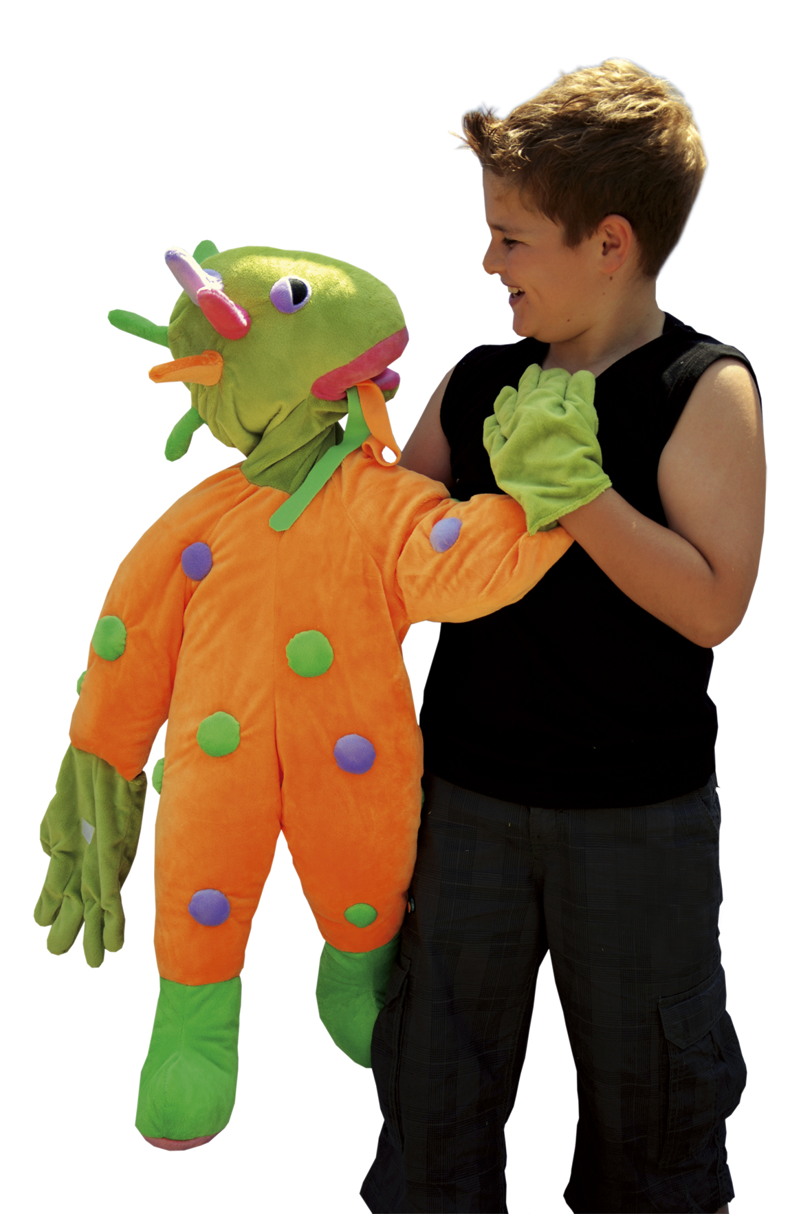 Handpuppet Wibo the Wordmonster