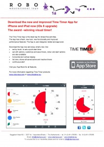 Newsletter Time Timer App June 2015