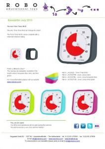 Newsletter Time Timer MOD July 2015