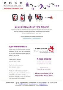 Newsletter december 2015 website