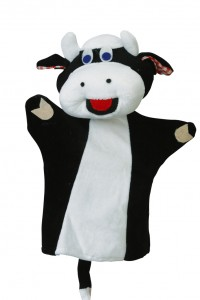 Glove puppet Cow