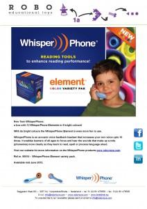 Newsletter WhisperPhone May 2015