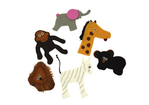 Fingerpuppets Zoo Animals