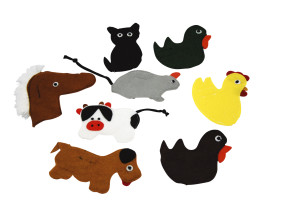Fingerpuppet Animal Sets Farm Animals