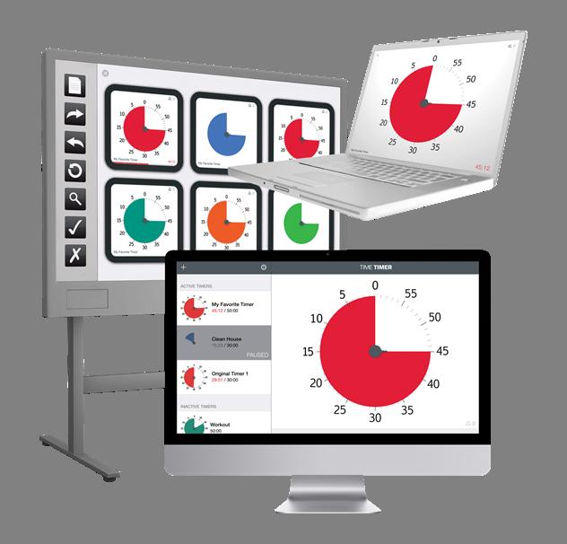 NIEUW: Time Timer® Desktop App (Mac or Windows)
