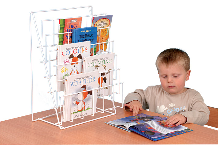 Table Top Book Rack