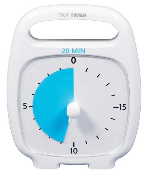 time timer plus 20 min and 120 min robo educational toys